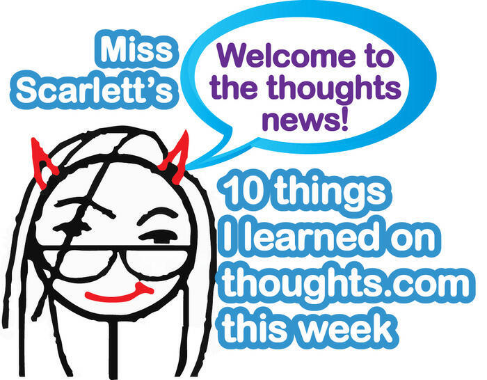 Ten things I learned on thoughts this week.